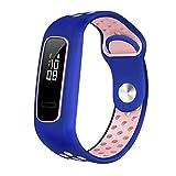 iBoosila pour Huawei Honor Band 4 Courant/Bracelet de Montre en Silicone 3E / AW70,...