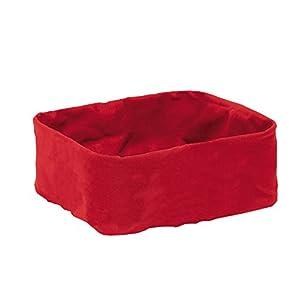 Brotkorb Stoff brotkorb stoff rot dein haushalts shop