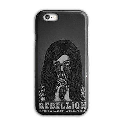 Rebellion Mädchen Gangster Kleider Mädchen iPhone 6 / 6S Hülle | Wellcoda (Narco Kostüm)