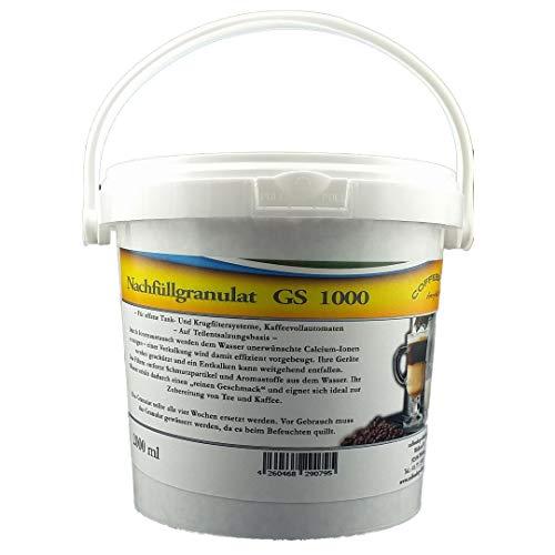 2L GS1000 Nachfüllgranulat - für Krug- und Tankfilter/Tischwasserfilter/Bügelstationen/Luftbefeuchter/Wasserfilter/Filterpatronen/Nachfüllkartuschen/Kaffeemaschinenfilter