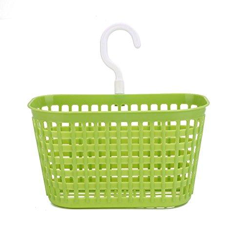 Kicode baño plástico Cesta Colgante Ducha champú