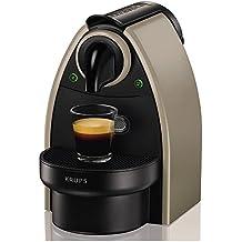 Krups xn2140K Essenza Flow Stop máquina de café nespresso Depósito 1litro Potencia 1260W Color Gris Pardo