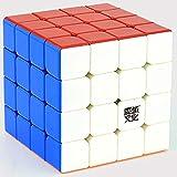 DishyKooker Magnetische 4 * 4 * 4 Moyu Aosu GTS M Puzzle Magic Cube 4 4-lagig ohne Aufkleber, Rubbix Cubo Megico Rubic 6,2 cm 4x4x4 Professional My Mf Sij Asgts M Cs