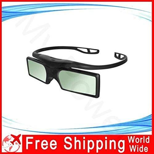 You will think of me Gafas 3D Activas De Recambio 2X SSG-5100GB TDG-BT500a para Panasonic 3D TV Y Proyector (Color : Black)