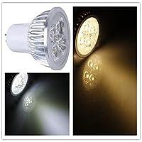 Lampadine spot/Proiettori Par - GU5.3 - Par - 5 W- Dimmerabile - Bianco caldo/Bianco freddo 350-400 lm- AC 110-130 , Warm White