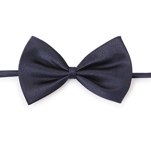 Ericoy Haustier Hund Katze Fliege Krawatte Kaffee schwarz Bogen Größe: 9cm x 5cm, Hals 25cm - 40cm