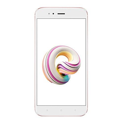 Xiaomi Mi A1 EU - Smartphone de 5.5' (32 GB de almacenamiento interno y 4 GB de RAM, cámara dual con zoom óptimo 2x, Android) color rosa [versión española]