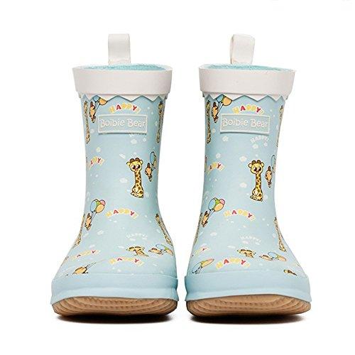 Brisk- Bottes De Pluie Antidérapant Bottes De Pluie Filles Garçons Chaussures D'eau Enfant Dessin Animé Mignon Chaussures