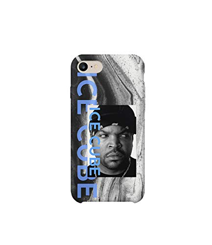 Ice Cube Rap Music Legend Face_MA0888 for iPhone 7, Protective Phone Mobile Hülle Kompatibel mit Schutzhülle aus Hartplastik for Compatible with iPhone 7/7s