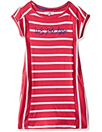 US Polo Kids Girls' Column Knee-Long Dress