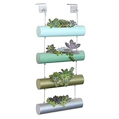 E6007Vier Saison Vertikal Zen Micro Garten Übertopf Sukkulente Kaktus Kleine Pflanzen Kräuter Pflanzen Zylinder System von HOBBYS auf Du und dein Garten