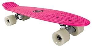 Bored Kids Neon XT Cruiser Skateboard - Neon Pink, 58x15cm