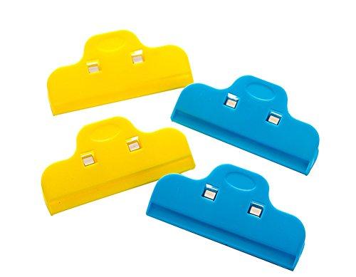 Preisvergleich Produktbild Tasche Clips, Pyrus strong-grip Chip Feuchtigkeit Proof und Frischhalten Clips (Set of 4)