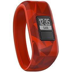 Garmin vivofit Jr - Tracker de actividad para niños, rojo