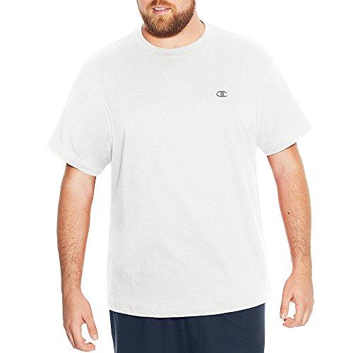 Champion Big & Tall maglia a maniche corte, da uomo White