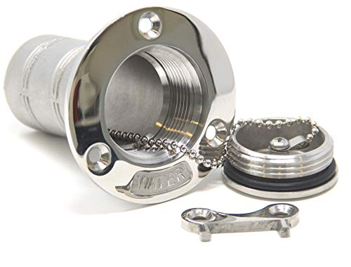 tutzen Edelstahl A4-AISI 316 WASSER für 38 mm Schlauch ()