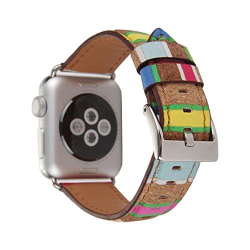 Magiyard Para Apple Watch Correa madera