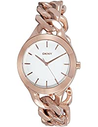 (CERTIFIED REFURBISHED) DKNY Analog White Dial Women's Watch - NY2218I