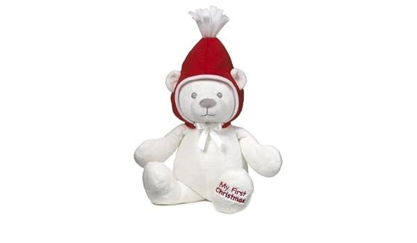 NEW! HX11062 My First Christmas Teddy Bear by Baby Ganz