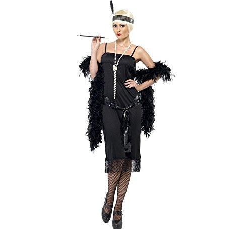 Womens Haloween Kostüm - Kostüm Flapper 20s