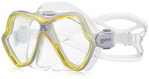 Mares Mask X-Vision Tauchmaske Yellow/White One Size