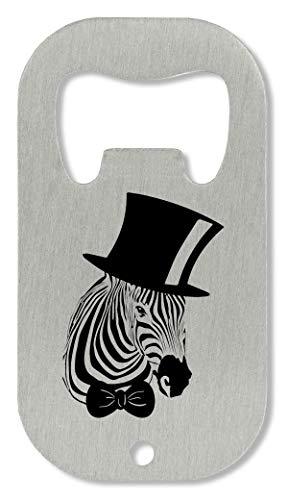 Snob Zebra Wearing Top Hat Graphic Abrebotellas