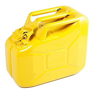 Sirius Explosion Safe Metal Jerry Can 10l Yellow