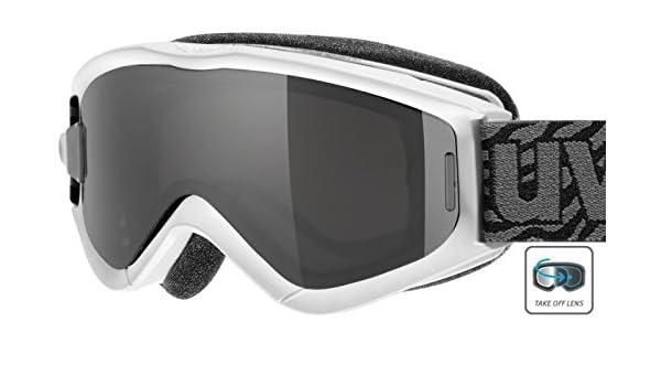 Uvex Speedy Pro Children s Ski Goggles Take Off Ski Goggles One size White  white Size One Size  Amazon.co.uk  Sports   Outdoors e4c0cc77f3