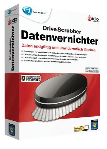 IOLO Drive Scrubber - Datenvernichter - Löschen Festplatte
