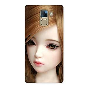 Special Lovely Doll Multicolor Back Case Cover for Huawei Honor 7