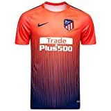 Nike - ATLÉTICO Madrid Camiseta Calentamiento 18/19 Color: Naranja Talla: M