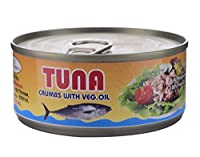 Sea Wonder Tuna Crumbs with Veg. Oil - 160 GMS… (Pack of 1)