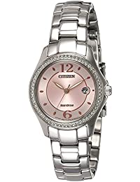 Citizen Analog Pink Dial Women's Watch-FE1140-51X