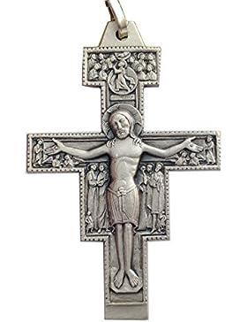 925 Sterling Silber Kreuz Von Hellige Damiano
