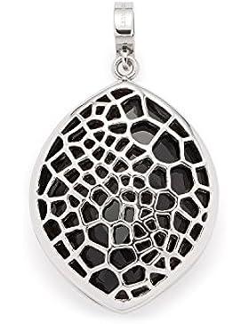 Leonardo Jewels Damen Anhänger Darlin's Felicia Edelstahl Glas schwarz 016409