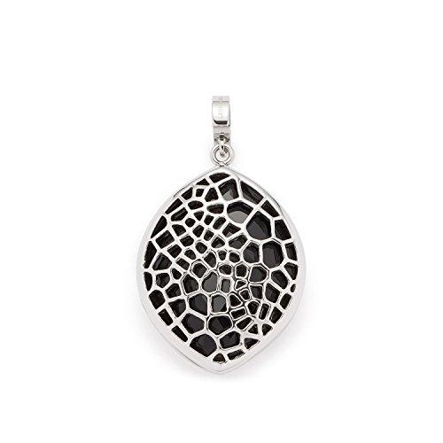 Leonardo Jewels Damen Anhänger Darlin\'s Felicia Edelstahl Glas schwarz 016409