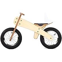 DipDap Luxus Holz Kinder Fahrrad Kinderfahrrad Laufrad Balance-Bike Pink 400094