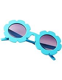 B Baosity Lunettes de Soleil Cadre de Tournesol Enfant Protection UV 400  pour Garçon et Fille bc9217cb9a52