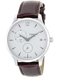 Tissot Herren-Armbanduhr Analog Quarz Leder T063.639.16.037.00