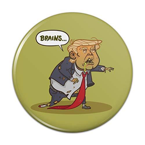 Donald Trump Undead Zombie Halloween Lustiger Küchen-Kühlschrank-Magnet – 7,6 cm Durchmesser