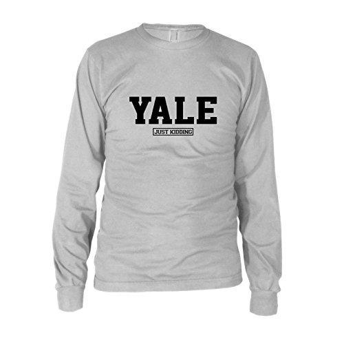 Preisvergleich Produktbild Yale Just Kiddung - Herren Langarm T-Shirt, Größe: M, Farbe: weiß