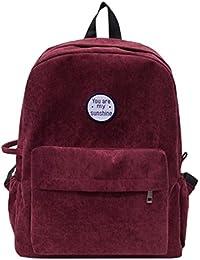 Rucksack Rcool Cord Schulter Buch Taschen Schule Reise Rucksack Tasche preisvergleich bei kinderzimmerdekopreise.eu