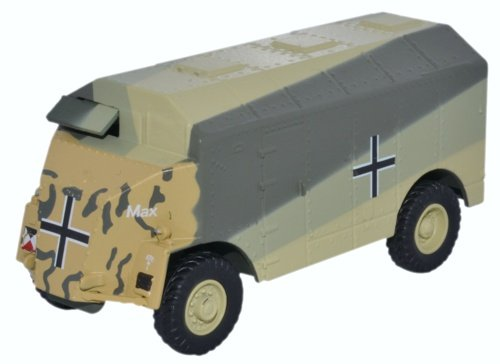 Dorchester ACV , Max (Rommel), 1941, Modellauto, Fertigmodell, Oxford 1:76 (Motor Max-die Cast-autos)