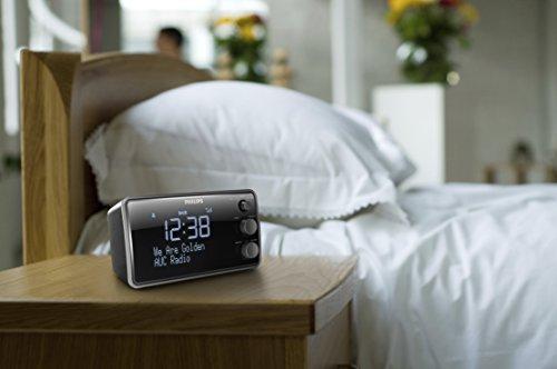 Philips AJB3552/12 Radiowecker (LCD-Display, DAB+/Digitalradio, Sleeptimer, Gentle Wake, DBB, FM digital tuning) (schwarz) - 3