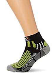 X-Socks Laufsocke Run Speed Two - Calcetines para mujer, color negro, talla 42-44