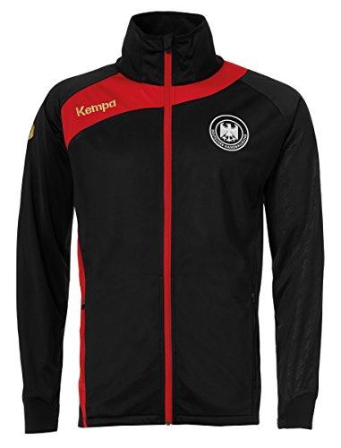 FanSport24 Kempa Handball DHB Deutscher Handballbund Multijacke Kinder schwarz rot Größe 164