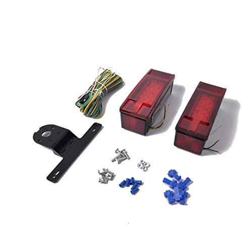 Togames-DE Anhänger LKW LKW LED Rücklicht Lampe Auto-Anhänger Rücklicht Umkehrbremse Schalten Sie die Rücklichter EIN
