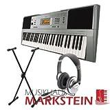 Yamaha PSR-E-353 SPAR-Set Keyboard mit Stativ und Stereo-Kopfhörer
