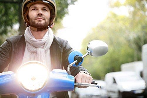 TomTom Vio Motorroller-Navigation (6,1 cm (2,4 Zoll) Display, Europa Karten, Radarkameras auf Wunsch, Anruferanzeige schwarz) - 6