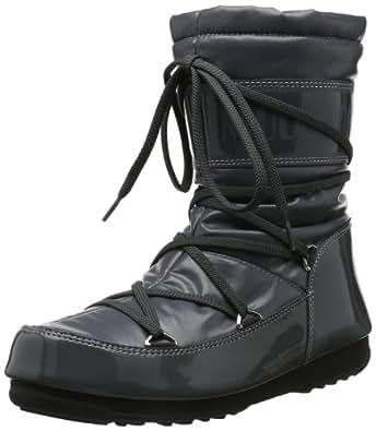 Tecnica M-Boot W.E.Soft Mid Antracite, Boots femme, Gris - Grau (ANTHRACITE 11), 34